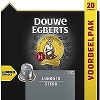 Douwe Egberts Koffiecups Lungo Sterk Voordeelverpakking (200 Koffie Capsules, Geschikt voor Nespresso* Koffiemachines…