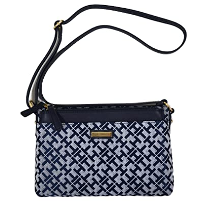 wholesale online best online 100% authentic Tommy Hilfiger Crossbody With Pouch In Navy Blue