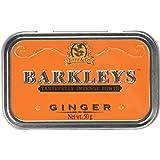 Barkleys Mints Ginger Tastefully Intense Mints Tins 50 g (Pack of 6)