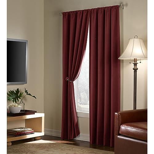 Velvet Curtain Panels Amazon Com