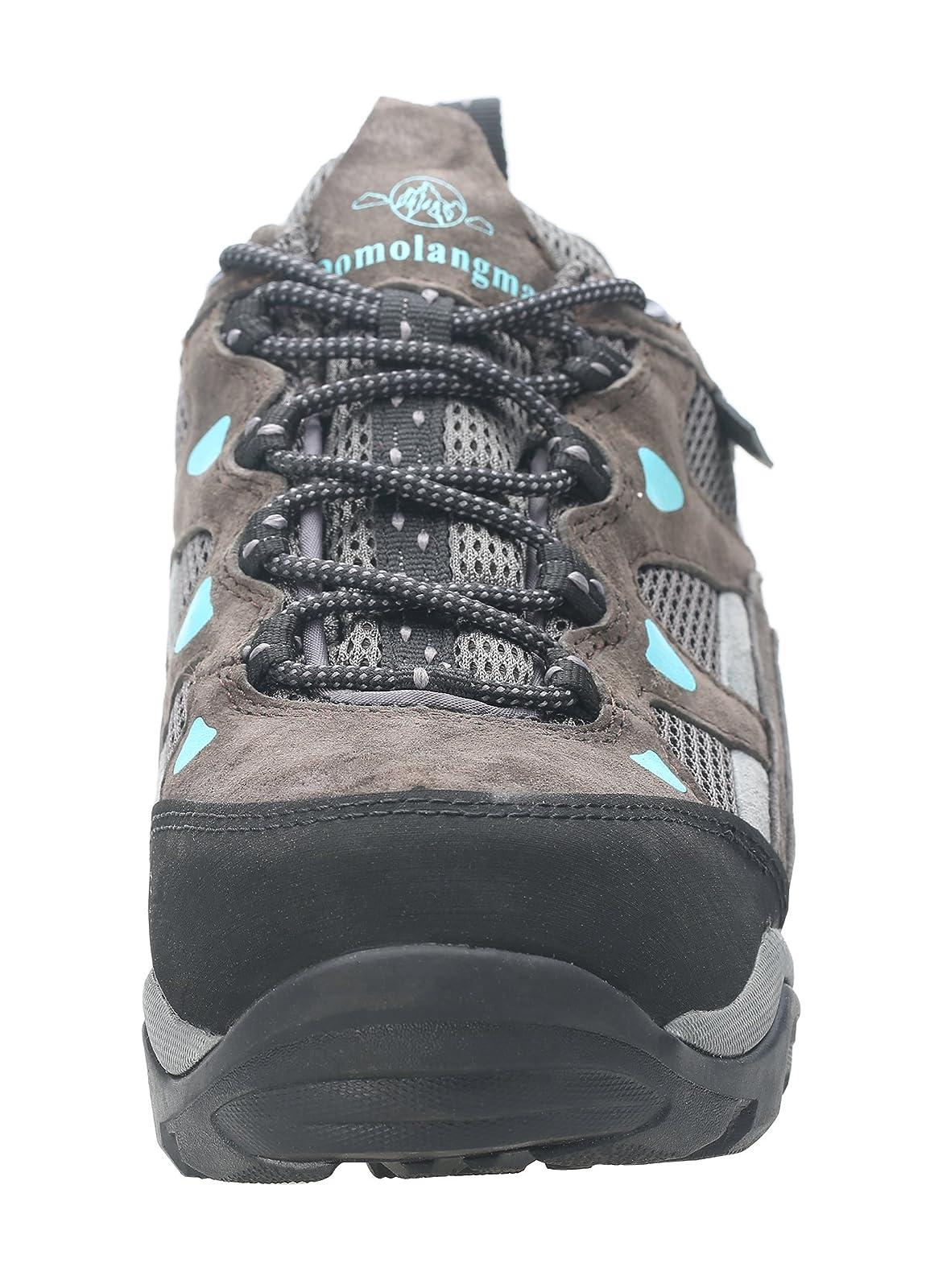 QOMOLANGMA Women's Waterproof Wide Hiking Shoes W91501 - 1