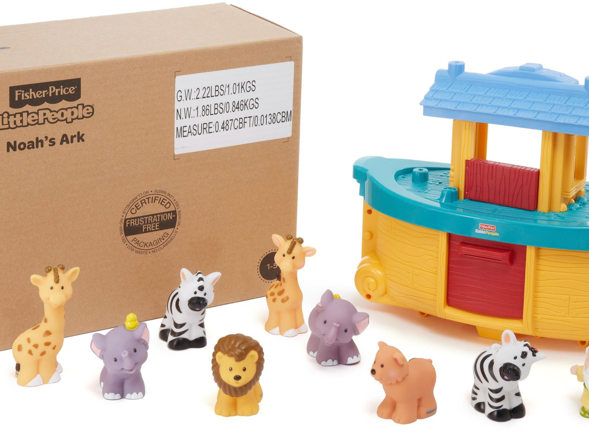 Fisher-Price Little People Noah's Ark by Fisher-Price (Image #27)
