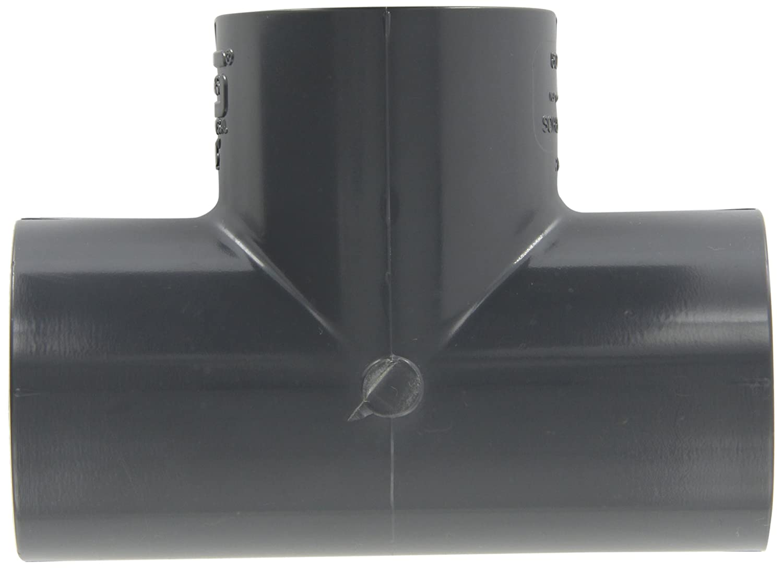 Tee 1-1//4 Socket 1-1//4 Socket Spears Manufacturing 801-012 Schedule 80 Spears 801 Series PVC Pipe Fitting