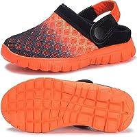 Zuecos Unisex Infantil Niños Niñas Clogs Verano Respirable Antideslizante Sandalia Piscina Jardín Zapatos 25-39