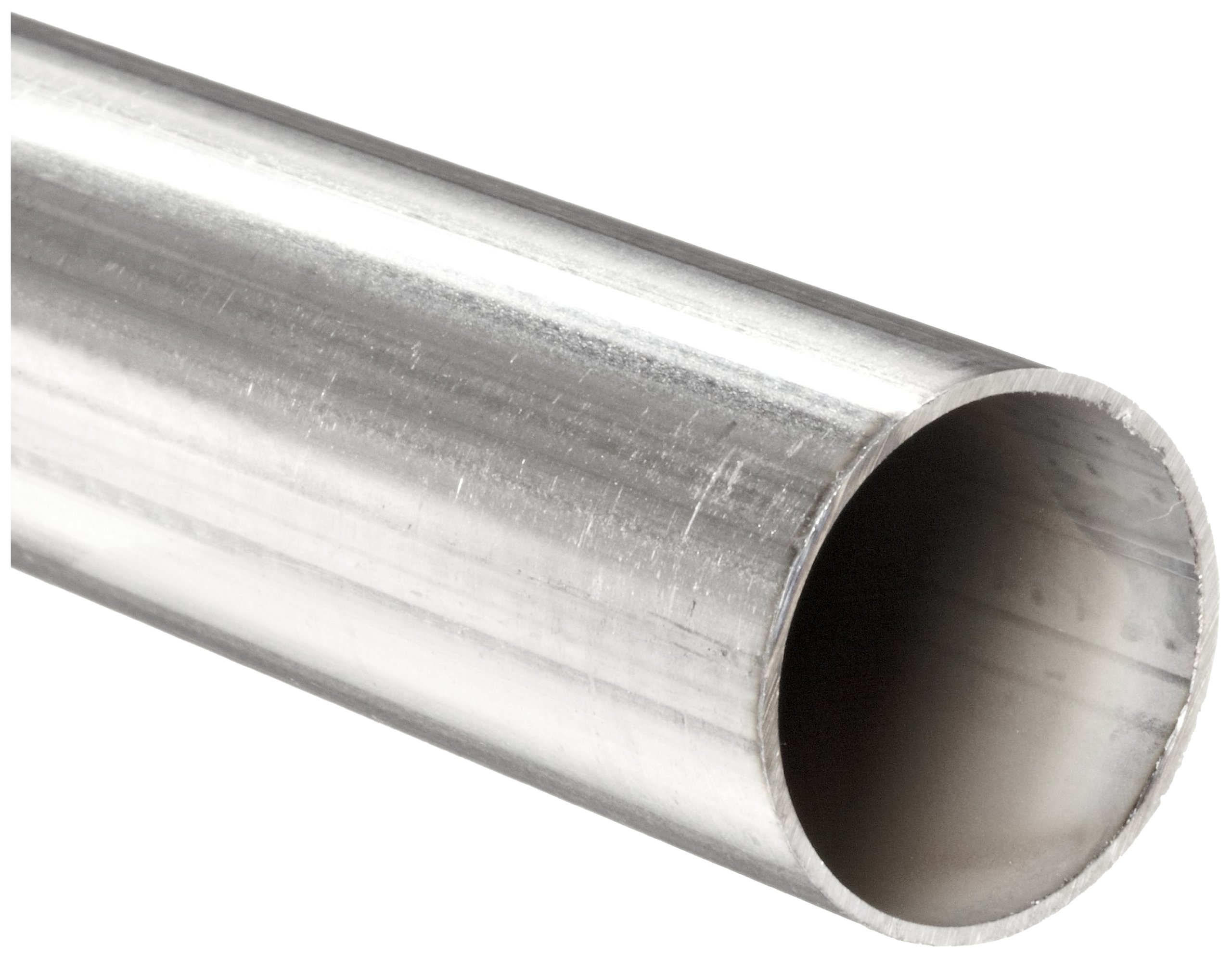 Stainless Steel 316L Welded Round Tubing, 1-1/4'' OD, 1.12'' ID, 0.065'' Wall, 12'' Length