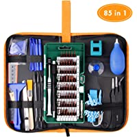 85 in 1 Precision Screwdriver Set, WOWGO Electronics Repair Tool Kit, Magnetic Driver Kit with Premium Portable Bag for Cell Phone, iPhone, iPad, Watch, PC, Laptop and more