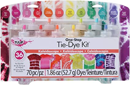 6 x Colours Tye Dye Set Tie Dye Kit Tie Dye up to 20 Projects  Artistic Den