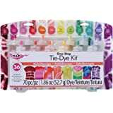 Tulip One-Step Tie-Dye Kit Kaleidoscope, 12 Colors Tie Dye