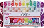 Tulip One-Step Tie-Dye Kit Kaleidoscope, 12 Colors Tie Dye