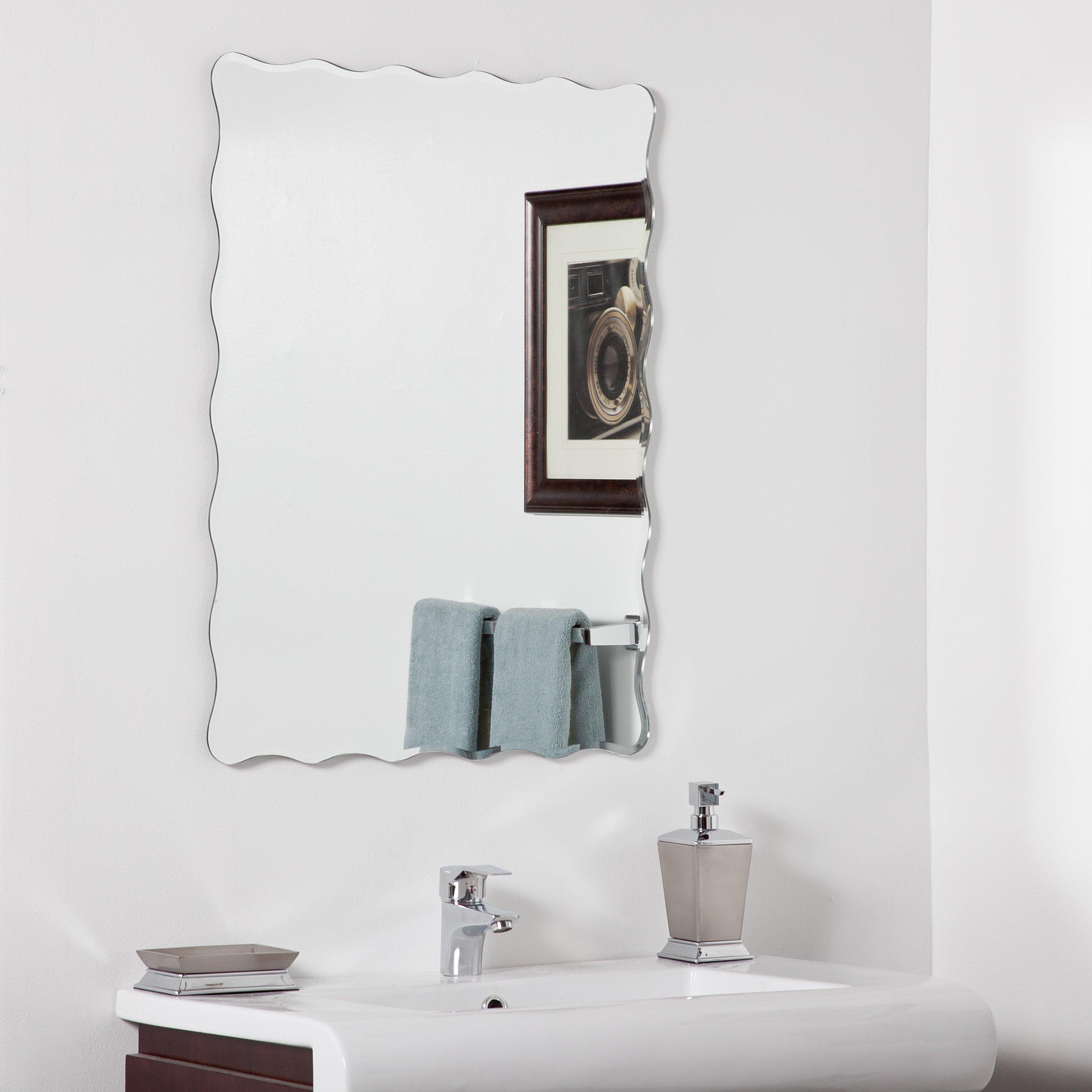 Decor Wonderland Angelina Modern Bathroom Mirror by Decor Wonderland