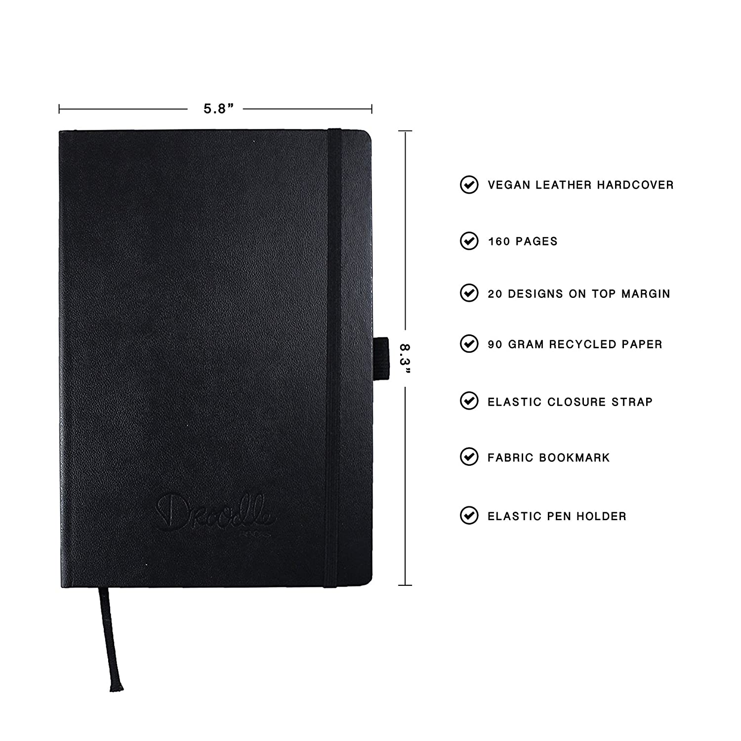 Amazon Adult Coloring Book Leather Notebook 20 Unique