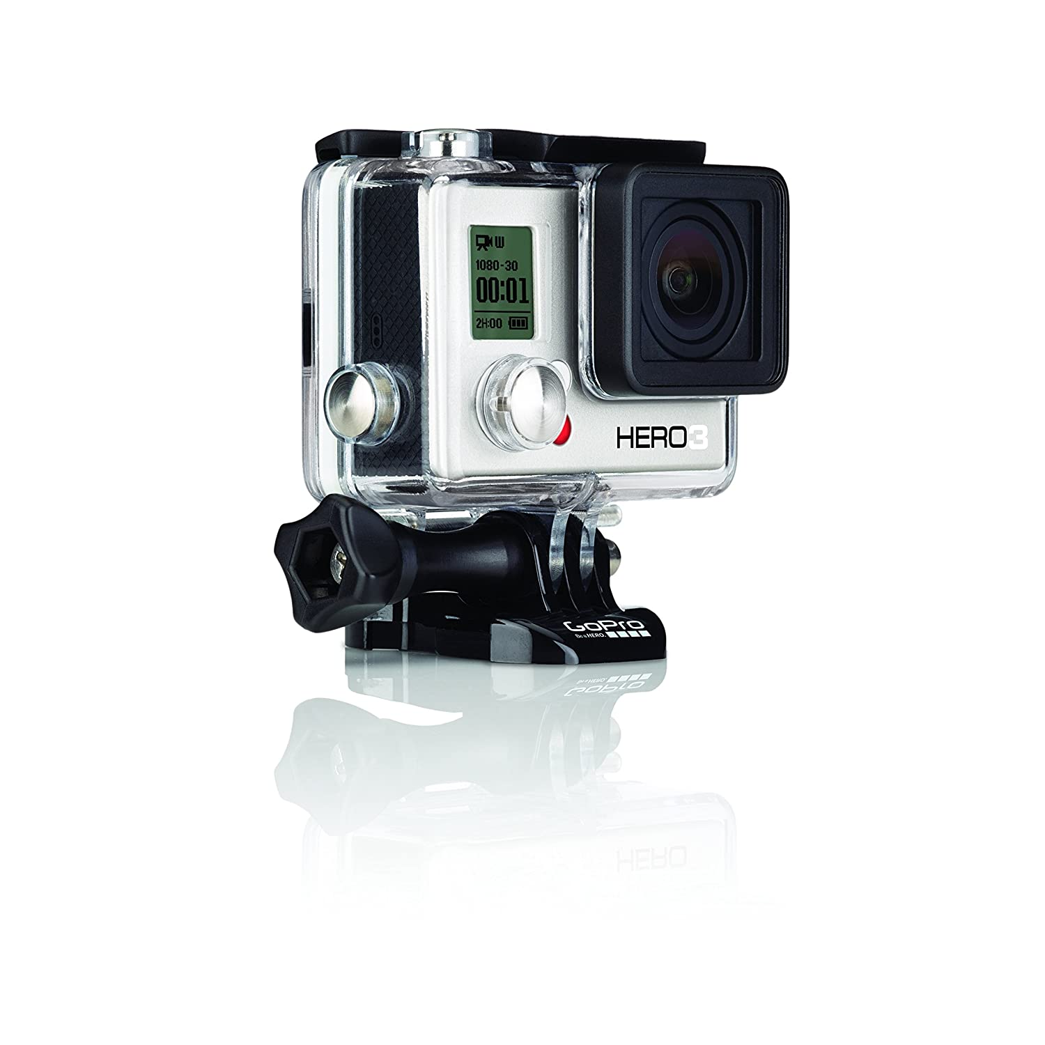 Amazon.com : GoPro HERO3: White Edition - 131'/ 40m Waterproof Housing :  Camera & Photo