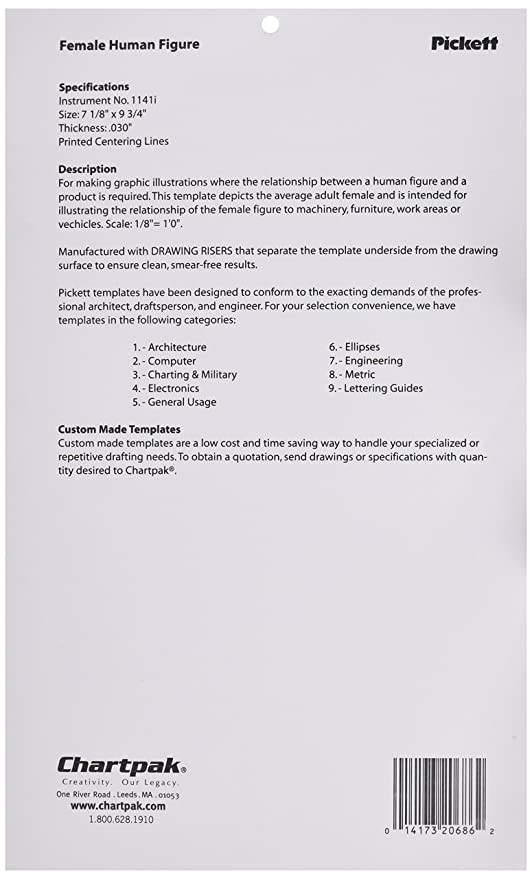 amazoncom pickett protractor template 1034i health personal care
