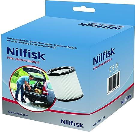 Nilfisk Filtro para Aspirador de Bricolaje Buddy II, Blanco: Amazon.es: Hogar