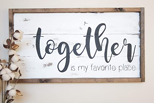 family wood sign,rustic,home decor,hand painted,wedding they built a life