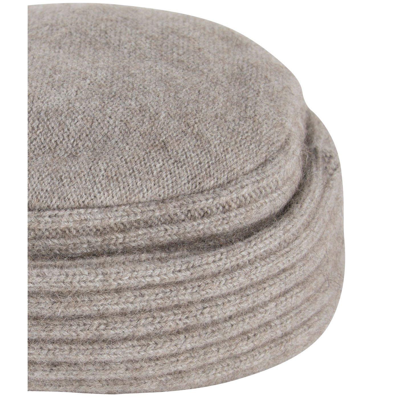 Merinomink Felted Hat, Merino Possum Blend, Stone by Merinomink (Image #3)