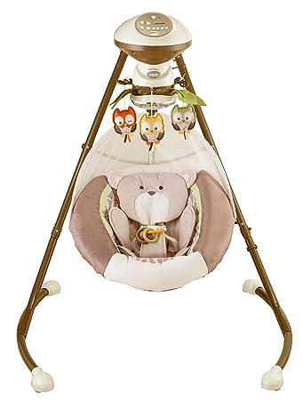 Fisher Price My Little Snugabear Cradle N Swing