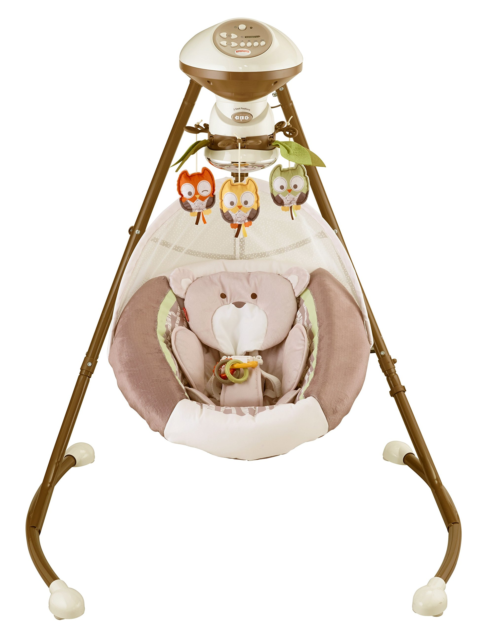 Fisher-Price My Little Snugabear Cradle 'n Swing