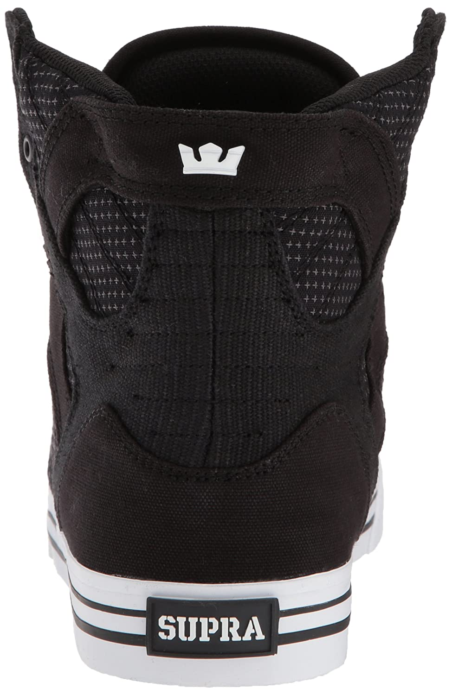 Supra Skytop Skate Shoe B074KHP5S9 11.5 M US|Black/Dark Grey/White