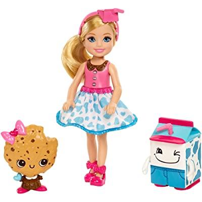 Barbie Dreamtopia Sweetville Kingdom Chelsea & Cookie Friend Doll: Toys & Games