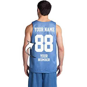 610839ff803b Custom Basketball Tank Tops - Make Your OWN Jersey - Personalized Team  Uniforms