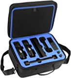 DACCKIT Travel Carrying Case Compatible with Nintendo Switch System - Fit Switch Console, Switch Dock, 2X Pro Controller, Joy-Con Grip, Power Adapter and Other Accessories