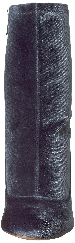 Sam Edelman Women's Calexa Fashion Boot B0722C3JWM 10 B(M) US|Blue Grey Stretch Velvet