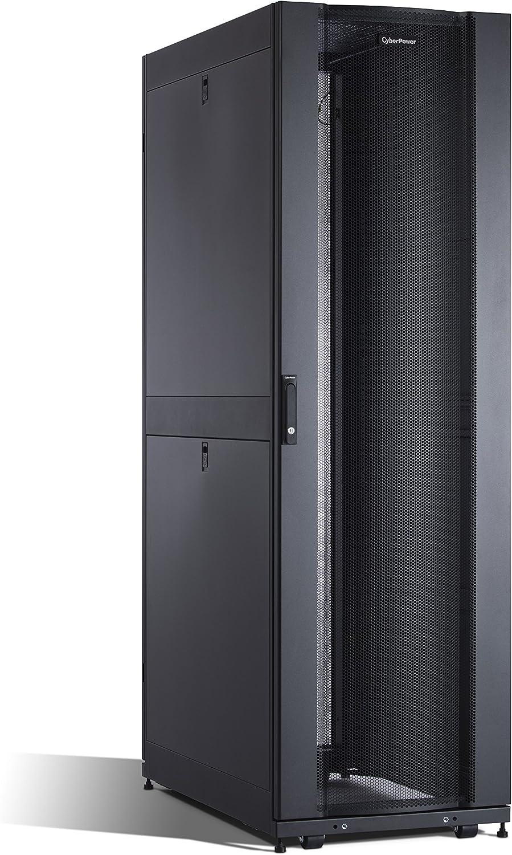 CyberPower Carbon CR42U11001 42U Rack Enclosure,black