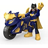 Fisher Price Imaginext DC Super Friends Figure Batgirl and Cycle