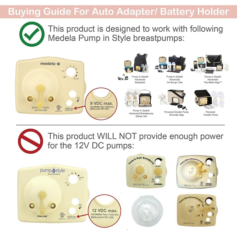 Battery Holder for Medela Pump in Style Advanced Breast Pump 9V ...