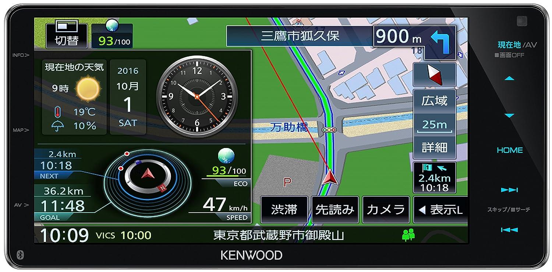 ケンウッド(KENWOOD) カーナビ 彩速ナビ MDV-Z904W ナビ単体  B01L8PLSLK