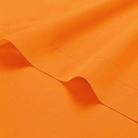 Couleur blanc T200 coton égyptien drap draps plats taies d/'oreiller