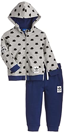 adidas Baby Trainingsanzug Magic Forest French Terry: .de