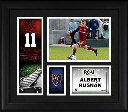 best authentic 76ae9 27802 Albert Rusnk Real Salt Lake Framed 15'' x 17'' Player ...