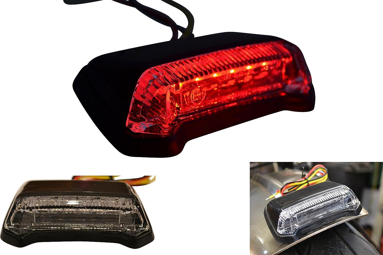 Universal E-marked LED Motocross Supermoto Cafe Racer Motorcycle Motorbike Stop Tail Light Alchemy Parts Ltd