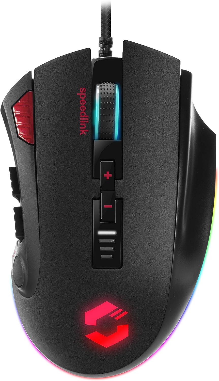 Speedlink Tarios Rgb Gaming Mouse Usb Maus Mit Rgb Computer Zubehör