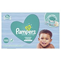 Pampers Baby Wipes Complete Clean SCENTED 16X Pop-Top, 1152 Count