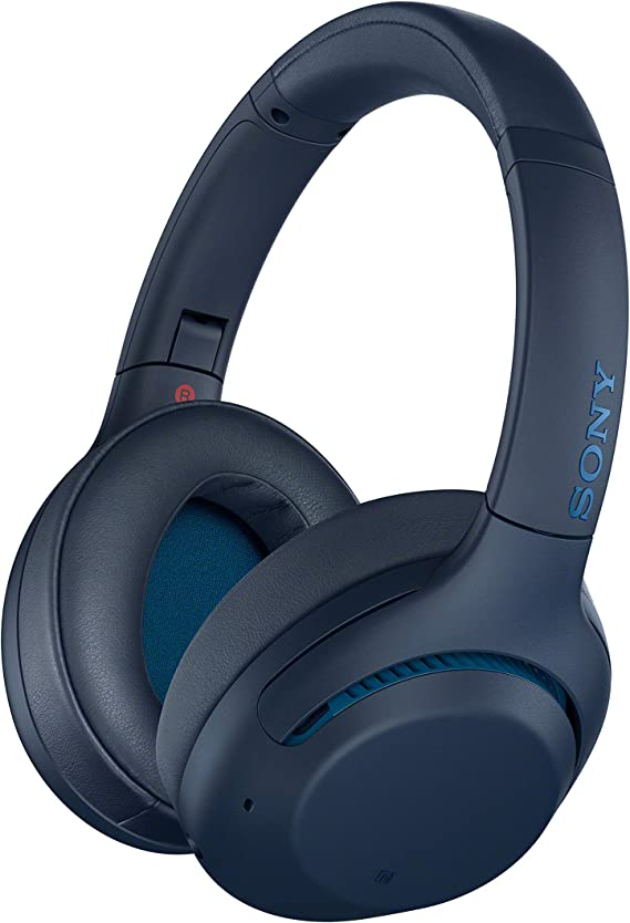 Amazon.com: Sony WHXB900N Noise Cancelling Headphones, Wireless Bluetooth Over the Ear Headset - Blue (Amazon Exclusive): Electronics