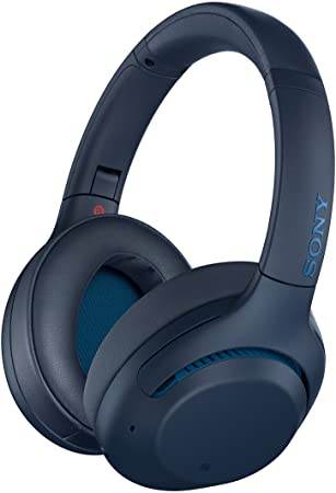 Amazon Com Sony Noise Cancelling Headphones Whxb900n Wireless Bluetooth Over The Ear Headset With Mic For Phone Call And Alexa Voice Control Blue Amazon Exclusive Model Number Wh Xb900n L Electronics