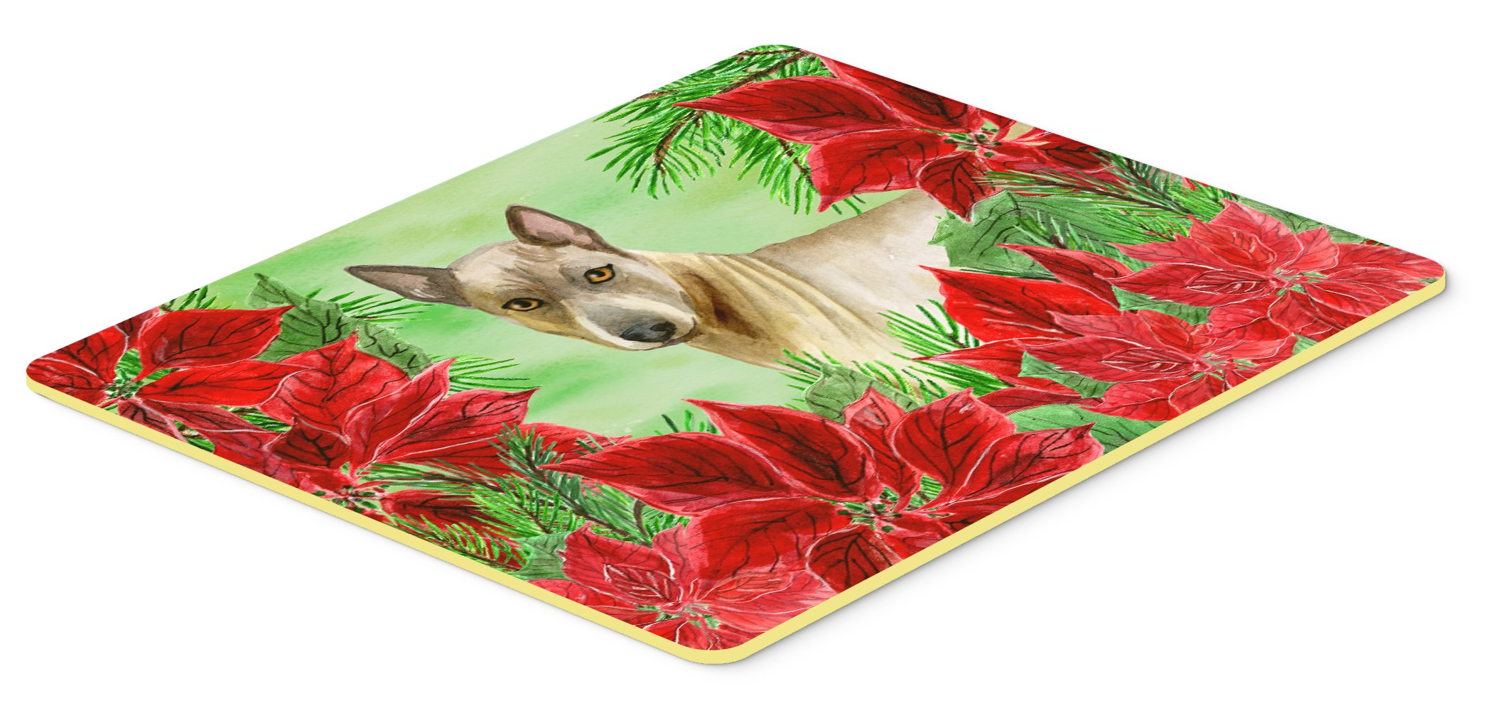 Caroline's Treasures CK1328CMT Thai Ridgeback Poinsettas Kitchen Mat, 20 X 30'', Multicolor by Caroline's Treasures