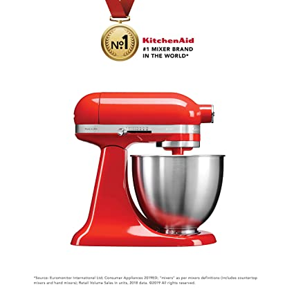 Outstanding Kitchenaid Artisan Mini 5Ksm3311Xbht 3 3 Litre Stand Mixer Hot Sauce Beutiful Home Inspiration Xortanetmahrainfo