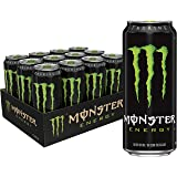 Monster Energy, Original, 473mL cans, Pack of 12