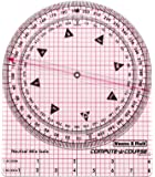 Weems & Plath Marine Navigation Compute-A-Course Multi-Purpose Plotting Tool