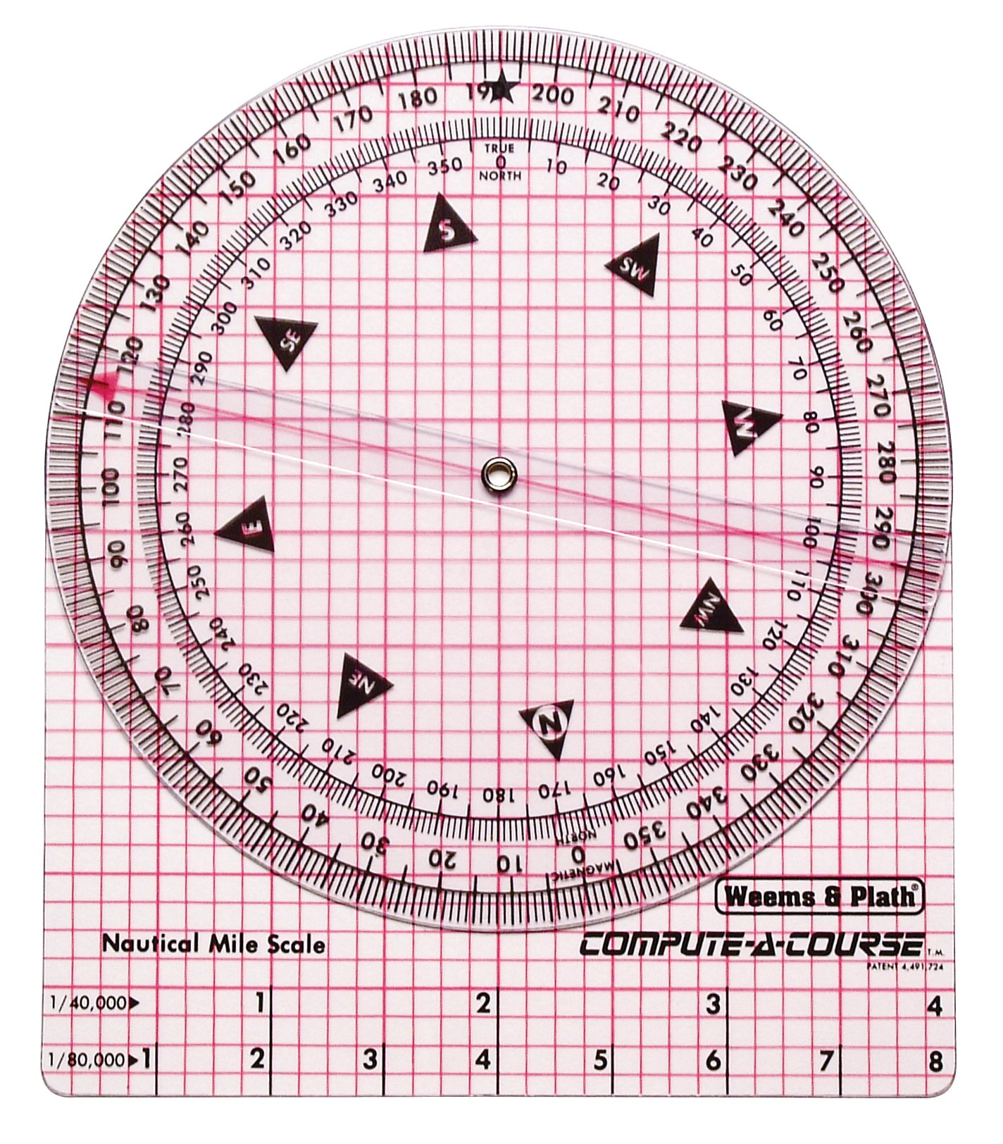 Weems & Plath Marine Navigation Compute-A-Course Multi-Purpose Plotting Tool