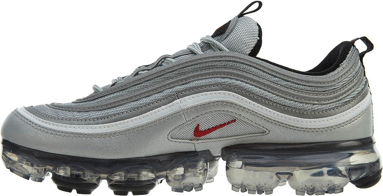 Nike Air Vapormax 97'S,Metallic SilverVarsity Red,10 M Nous