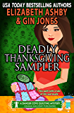 Deadly Thanksgiving Sampler: a Danger Cove Quilting Mystery (Danger Cove Mysteries Book 21)