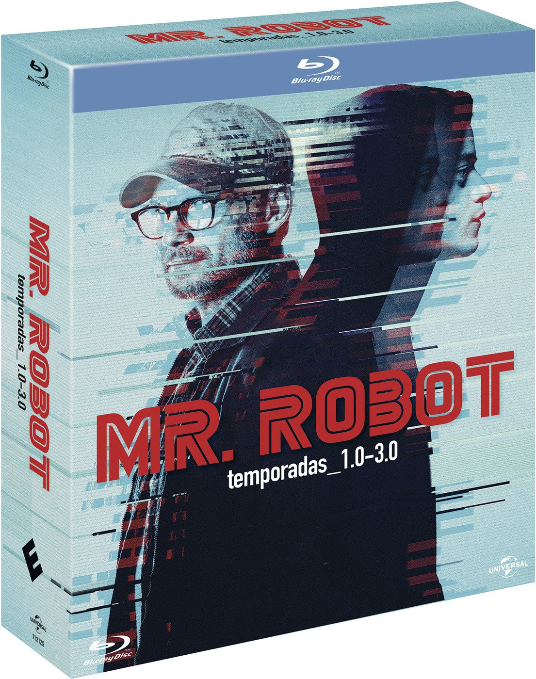Pack: Mr. Robot - Temporadas 1-3 [Blu-ray]: Amazon.es: Rami Malek, Christian Slater, Portia Doubleday, Sam Esmail, Rami Malek, Christian Slater, Anonymous Content: Cine y Series TV