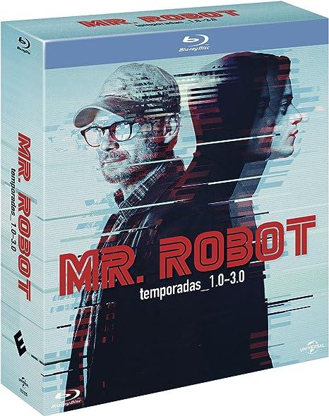 Pack: Mr. Robot - Temporadas 1-3 [Blu-ray]: Amazon.es: Rami Malek, Christian Slater, Portia Doubleday, Sam Esmail, Rami Malek, Christian Slater, Anonymous Content: Cine y Series TV