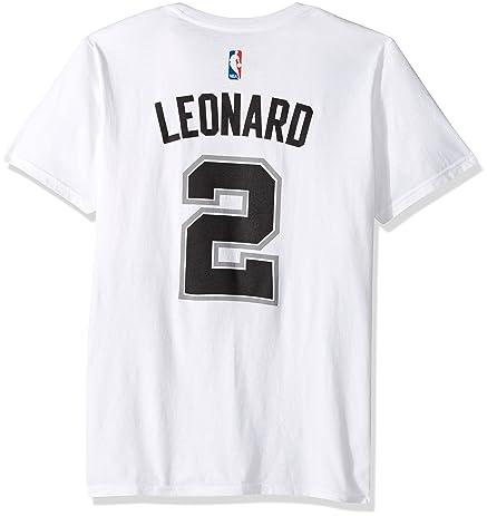 ... Kawhi Leonard San Antonio Spurs White Jersey Name and Number T-Shirt  Small Amazon.com ... 80a005c7f