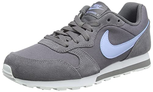 Nike MD Runner 2 (GS), Zapatillas de Running para Niñas, Gris (Gunsmoke/Royal Tint-White 012), 35.5 EU: Amazon.es: Zapatos y complementos